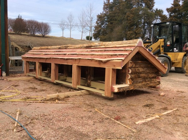 Cross country jump built by ETB Equine Construction
