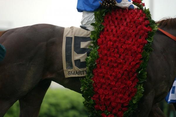 Fan favorite Smarty Jones wore the rose blanket in 2004.